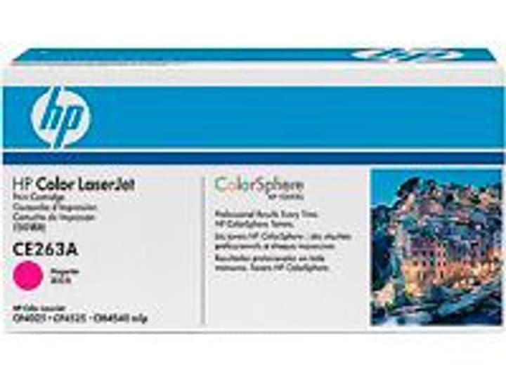 Toner CE263A magenta HP 785300125138 Photo no. 1