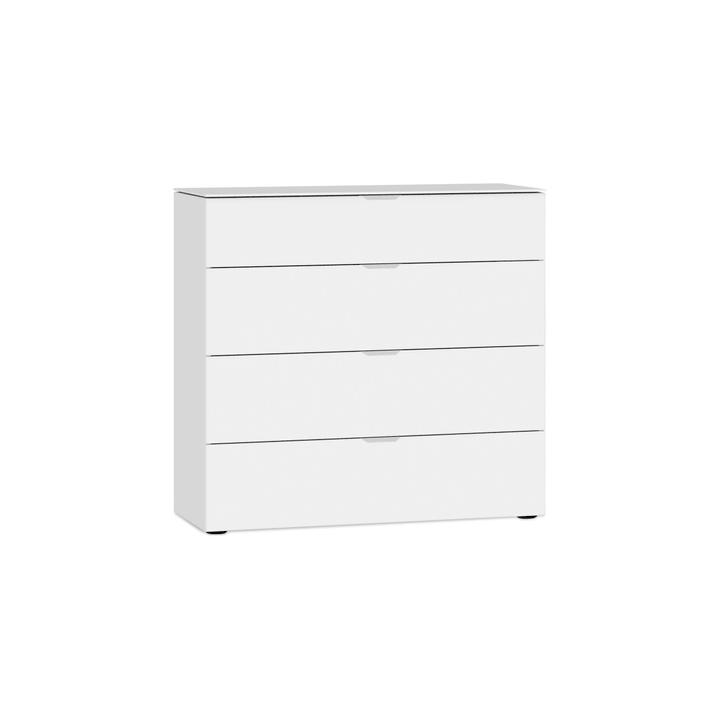 MILO Cassetto 364151500000 Colore bianco opaco Dimensioni L: 90.0 cm x P: 43.0 cm x A: 87.0 cm N. figura 1