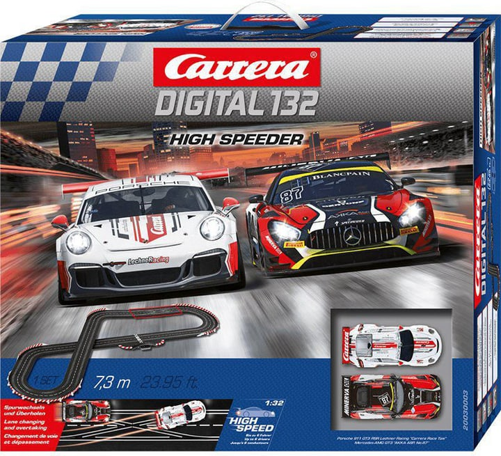 Carrera Digital 132 High Speeder 7.3M 747656100000 Photo no. 1