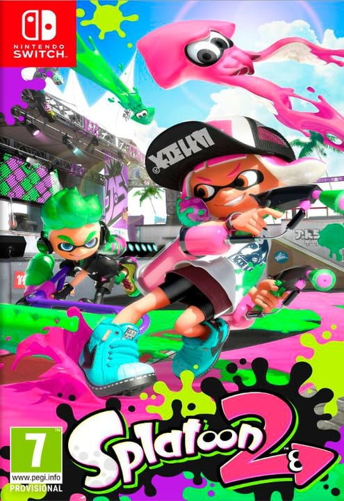 Switch - Splatoon 2 Box Nintendo 785300122445 Bild Nr. 1