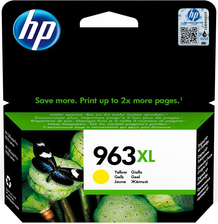 HP cartuccia d'inchiostro 963XL 3JA29AE yellow Cartuccia d'inchiostro HP 798259300000 N. figura 1