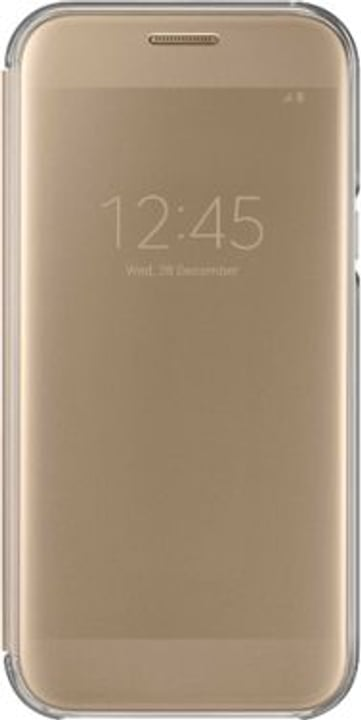 Clear View Cover A5 2017 oro Samsung 798075400000 N. figura 1