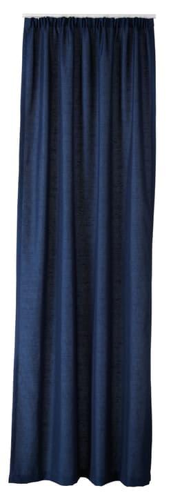 ADRIANA Rideau prêt à poser nuit 430264421843 Couleur Bleu foncé Dimensions L: 150.0 cm x H: 260.0 cm Photo no. 1