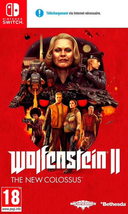 Switch - Wolfenstein II: The New Colossus (F) Physisch (Box) 785300135390 Bild Nr. 1