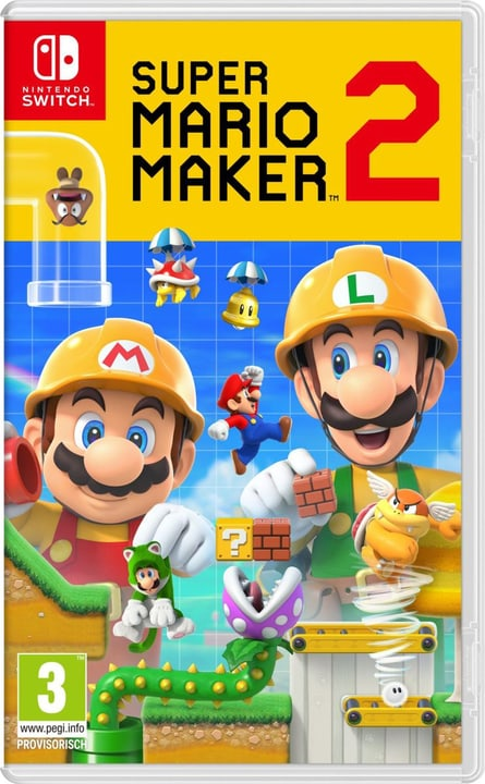 NSW - Super Mario Maker 2 Box Nintendo 785300144156 Sprache Französisch Plattform Nintendo Switch Bild Nr. 1
