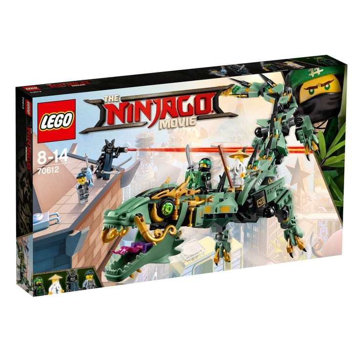LEGO NINJAGO Drago Mech Ninja verde 70612 748840800000 N. figura 1
