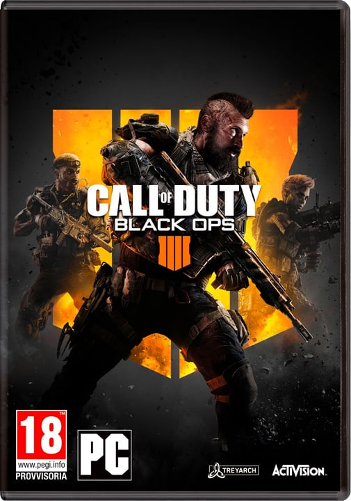 PC - Call of Duty: Black Ops 4 (I) Fisico (Box) 785300135603 Lingua Italiano Piattaforma PC N. figura 1