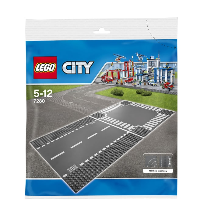 LEGO City Route droite et carrefour 7280 744839000000 Photo no. 1