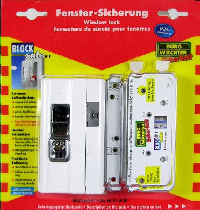 Fermeture Blocksafe B 1 W SB Burg-Wächter 614063700000 Photo no. 1