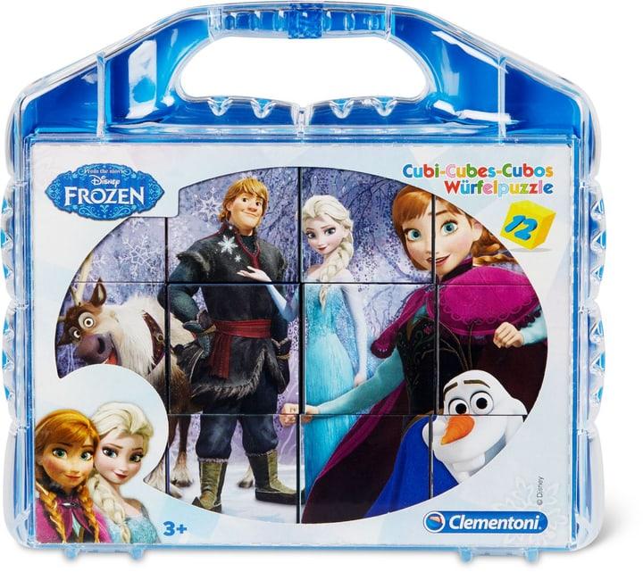Frozen Puzzle cubi 12 pezzi Disney 747432100000 N. figura 1