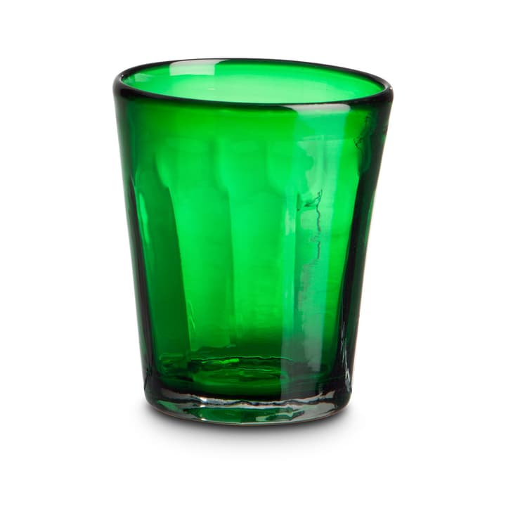 COLORADO Wasserglas 393083700000 Grösse B: 9.0 cm x T: 9.0 cm x H: 10.0 cm Farbe Dunkelgrün Bild Nr. 1