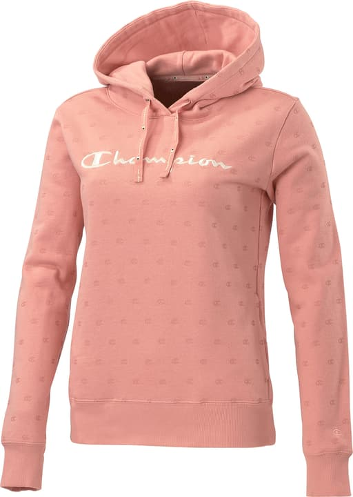 Hooded Sweatshirt Sweat-shirt à capuche pour femme Champion 462397400438 Couleur rose Taille M Photo no. 1