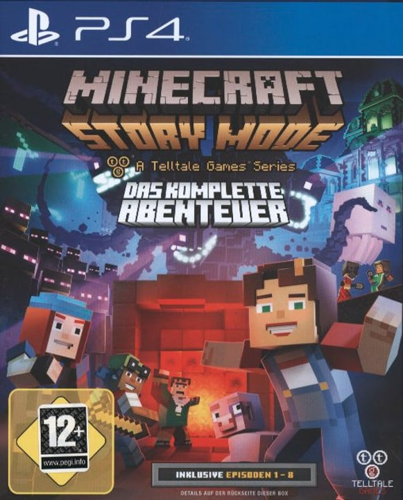 PS4 - Minecraft: Story Mode - Das komplette Abenteuer 785300121782 Bild Nr. 1