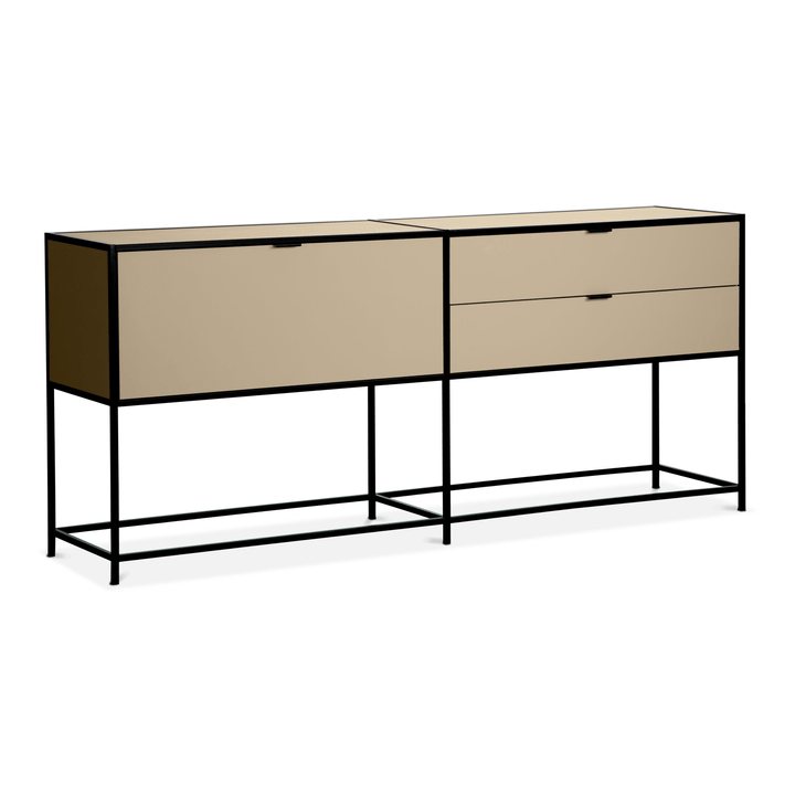 SEVEN Buffet Edition Interio 360976500000 Dimensioni L: 183.0 cm x P: 38.0 cm x A: 80.0 cm Colore Marrone N. figura 1