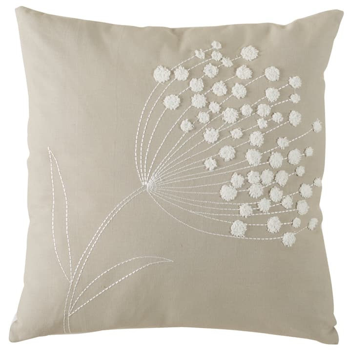 NOLA Coussin 450721040874 Couleur Beige Dimensions L: 45.0 cm x H: 45.0 cm Photo no. 1