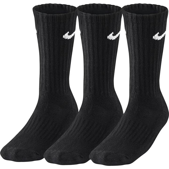 3er Pack Sport Crew Chaussettes de sport unisexe Nike 497112800620 Couleur noir Taille XL Photo no. 1