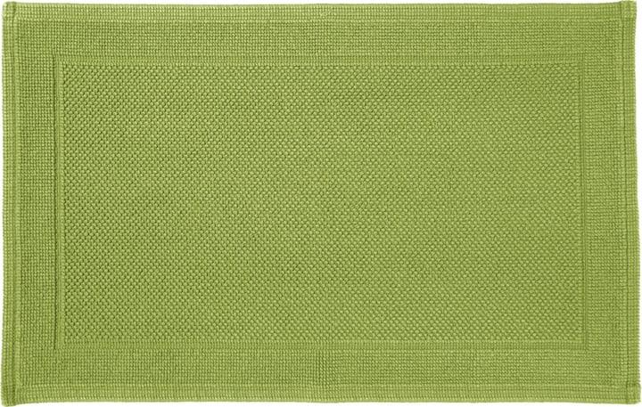 NAVE Tapis en tissu éponge 450854721561 Couleur Vert Dimensions L: 50.0 cm x H: 80.0 cm Photo no. 1