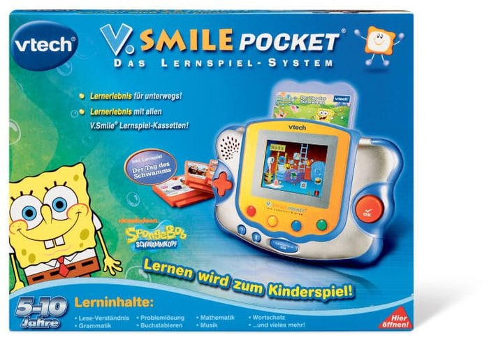 SMILE PO SMILE POCKET SPONGE BOB V-Tech 74521399000011 Bild Nr. 1