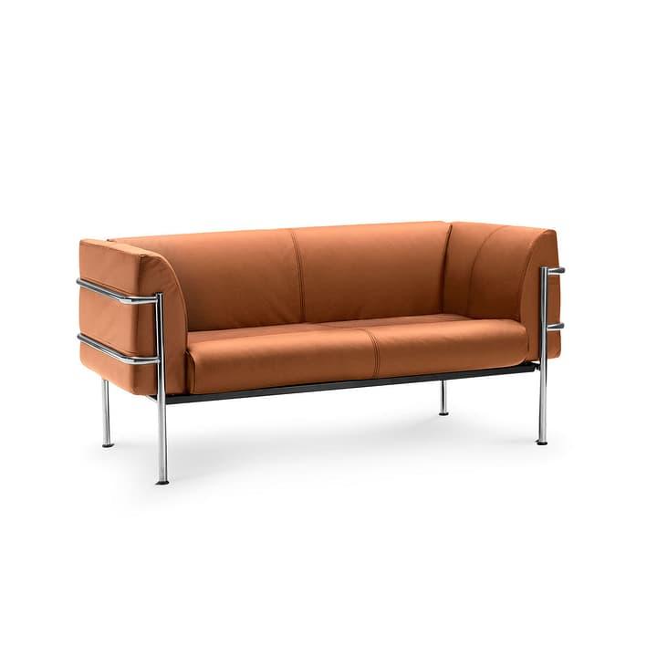 CADDY canapé en cuir à 2 places 360089700000 Dimensions L: 157.0 cm x P: 75.0 cm x H: 73.0 cm Couleur Brun clair Photo no. 1