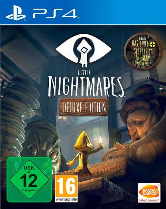PS4 - Little Nightmares - Deluxe Edition D Box 785300132472 Photo no. 1