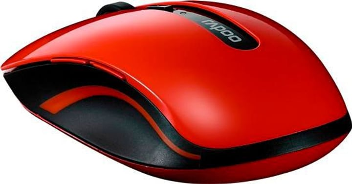 Wireless 5G Optical Mouse 7200P rosso Rapoo 785300124318 N. figura 1