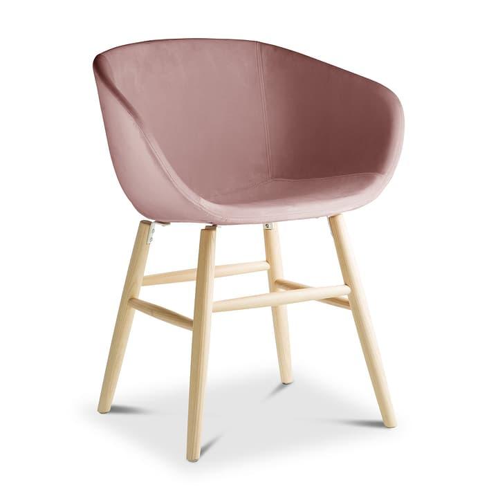 SEDIA Chaise avec accoudoirs 366186100000 Dimensions L: 45.0 cm x P: 58.0 cm x H: 87.5 cm Couleur Rose Photo no. 1