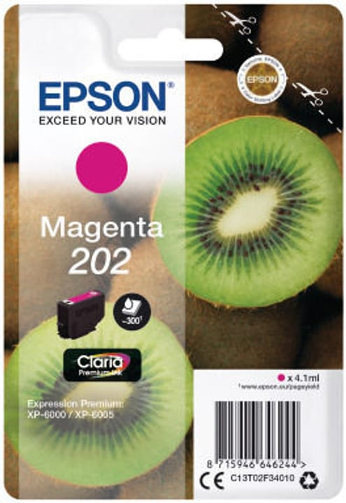 202 magenta Cartouche d'encre Epson 798549100000 Photo no. 1