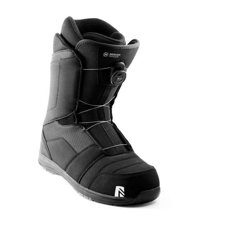 Ranger Boa botte de snowboard Nidecker 495530628520 Couleur noir Taille 28.5 Photo no. 1