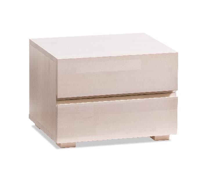 DUPLA Table de chevet HASENA 403179485002 Dimensions L: 48.0 cm x P: 40.0 cm x H: 35.0 cm Couleur Hêtre blanc Photo no. 1