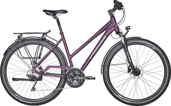 Quest Trekking bike Crosswave 464828604588 Colore bordeaux Dimensioni del telaio 45 N. figura 1