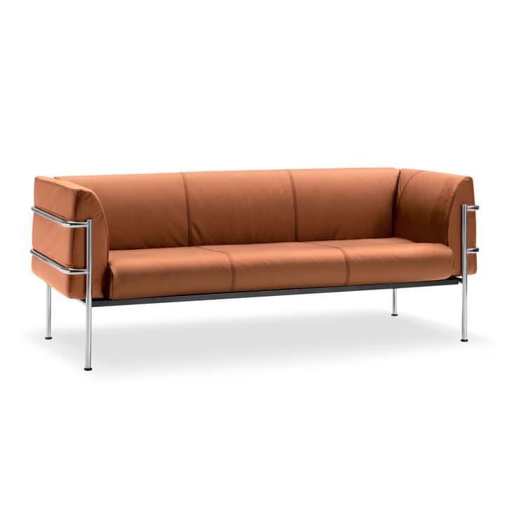 CADDY canapé en cuir à 3 places 360089600000 Dimensions L: 194.0 cm x P: 75.0 cm x H: 73.0 cm Couleur Brun clair Photo no. 1