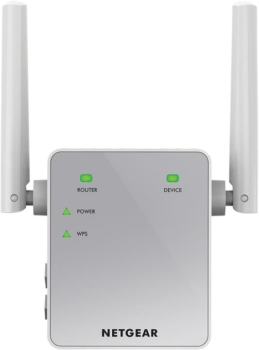EX3700-100PES AC750 Universal WLAN Repeater blanc/argent Netgear 797969300000 Photo no. 1