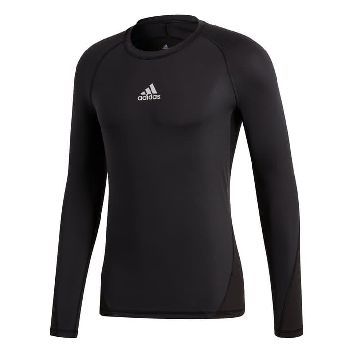 Ask Sport Longsleeve Tee Maillot de compression à manches longues pour homme. Adidas 498279200520 Couleur noir Taille L Photo no. 1