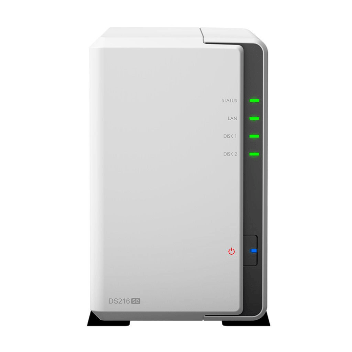 NAS DiskStatDS216se alloggiamento vuoto Network-Attached-Storage (NAS) Synology 785300123672 N. figura 1