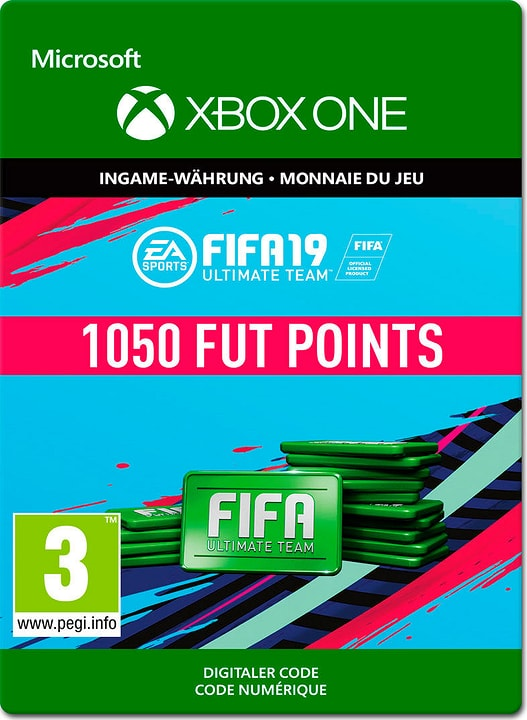 Xbox One - Fifa 19 Ultimate Team 1050 Points Download (ESD) 785300141830 N. figura 1