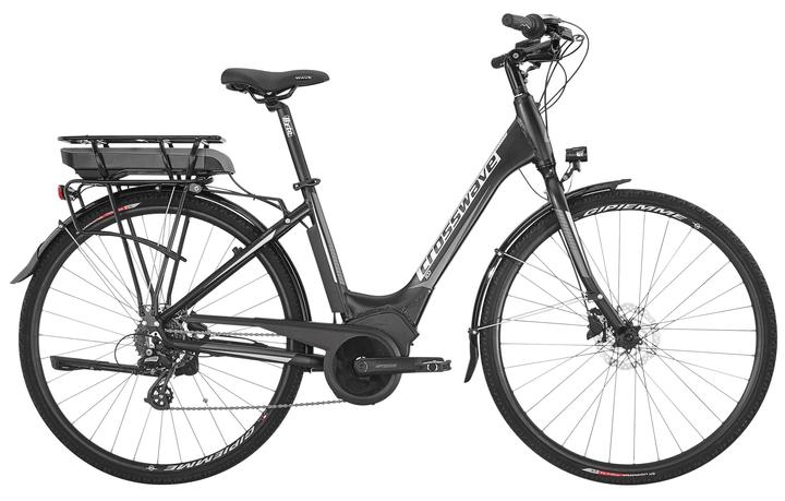 ECO- Wave Vélo électrique de ville Crosswave 464803504520 Tailles du cadre 45 Couleur noir Photo no. 1