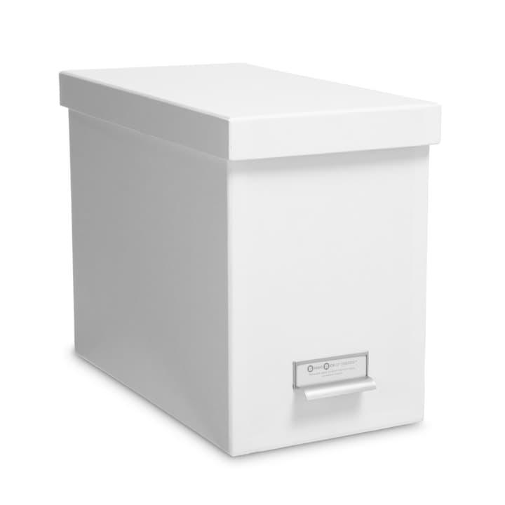 BIGSO CLASSIC Boîte à archives 386068900000 Dimensions L: 35.0 cm x P: 19.0 cm x H: 26.5 cm Couleur Blanc Photo no. 1