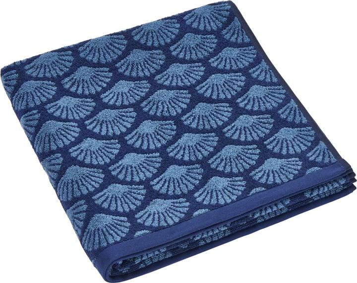 SIERRA Duschtuch 450870420540 Farbe Blau Grösse B: 70.0 cm x H: 140.0 cm Bild Nr. 1