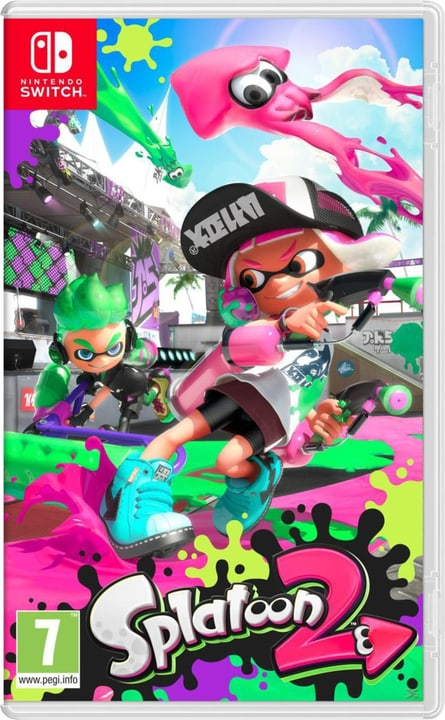 Switch - Splatoon 2 Box Nintendo 785300122436 Photo no. 1