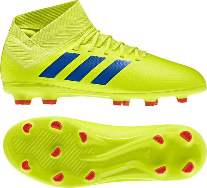 Nemeziz 18.3 FG Kinder-Fussballschuh Adidas 460679028050 Farbe gelb Grösse 28 Bild-Nr. 1