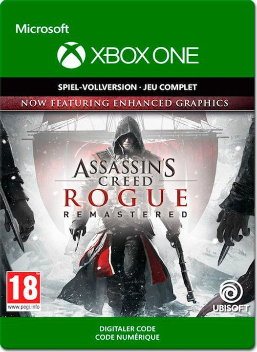 Xbox One - Assassins's Creed Rogue Download (ESD) 785300139762 Photo no. 1