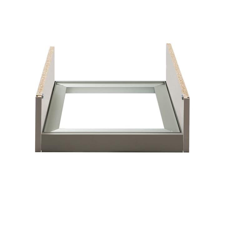 MILO Telaio in alluminio piccolo 364063800000 Dimensioni L: 65.0 cm x P: 47.0 cm x A: 7.0 cm Colore Acciaio inox N. figura 1