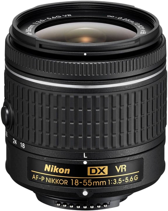 Nikkor AF-P DX 18-55 1:3,5-5,6G VR Objectiv Objectif Nikon 793430700000 Photo no. 1