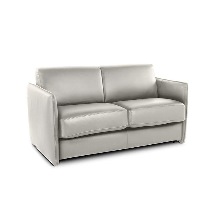 NAIMO canapé-lit à 2.5 places 360096600000 Dimensions L: 140.0 cm x P: 188.0 cm Couleur Gris clair Photo no. 1