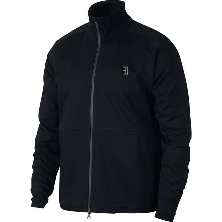 Court Tennis Jacket Veste pour homme Nike 473221500420 Couleur noir Taille M Photo no. 1