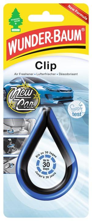 Clip New Car Deodorante per ambiente Wunderbaum 620691700000 N. figura 1