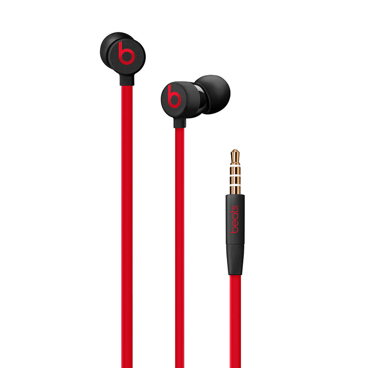 urBeats3 Earphones Avec prise 3.5 mm, Noir rouge Casque In-Ear Beats By Dr. Dre 785300139205 Photo no. 1