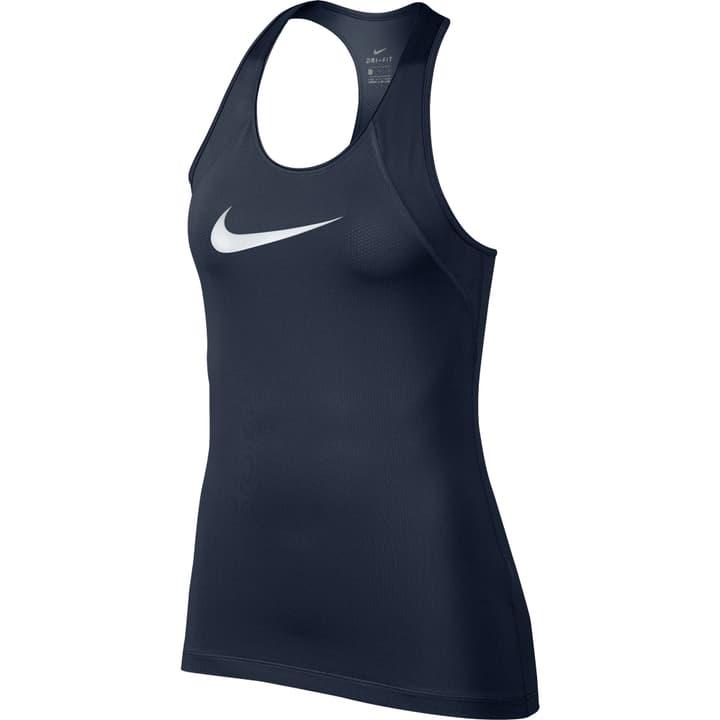 Pro Tank Haut pour femme Nike 464911900322 Couleur bleu foncé Taille S Photo no. 1