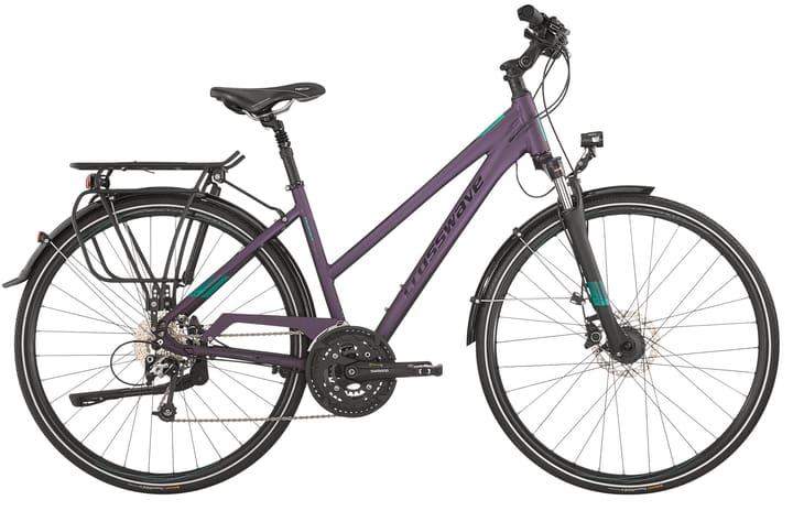 Quest Vélo de trekking Crosswave 464803704586 Tailles du cadre 45 Couleur antracite Photo no. 1