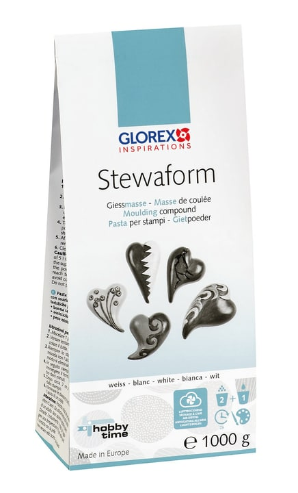 Stewaform, masse de moulage 1kg Glorex Hobby Time 665480200000 Photo no. 1